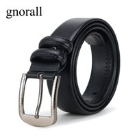 Gnorall Men's Classic Dress Leather Belt - Classic & Fashion...