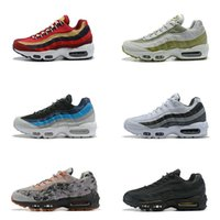 on sale 6834a 8e5ba Atractivo 20Color Drop Shipping Famous Air Sports 95 Multi-Color Mens  Athletic Sneakers Sports Running