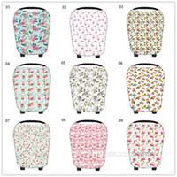 Baby Floral Car Seat Canopy Nursing Cover Blowout Breastfeed...