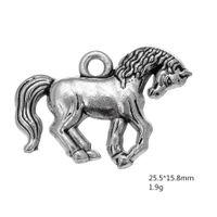 Aleación de zinc adorable Little Horse Animal Charm para la fabricación de joyería