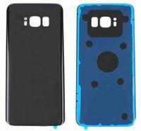 SAMSUNG Galaxy S8 Için 30 adet G950F G950U / S8 Artı G955F G955U Arka Pil Kapağı Kapı Arka Cam Konut Case Pil Kapağı Yerine