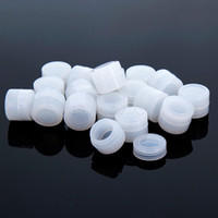 Finale Sale! 2ml 3ml Klarer Silikonbehälter Nein Tasche mit FDA Food Grade-Zulassung für Verdampferer Vape BHO Wachs Storage