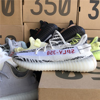 Top Quality 350 V2 Men Shoes SPLY 350 Butter Static Beluga 2...