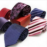 Echte zijden stropdas 9 cm stropdas voor mannen strips waterdichte antifouling 150cm langere halsteckwear pack met box gift heren