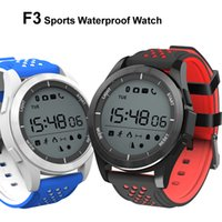 NO.1 F3 Smart Watch Bracelet IP68 Waterproof Smartwatches Outdoor Mode Fitness Sports Tracker Promemoria Dispositivi indossabili intelligenti