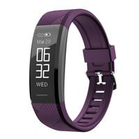 C11-Puls-Monitor Smart-Armband Fitness Tracker Smart Watch-verlorener wasserdichte Armbanduhr für iPhone iOS Android Phone