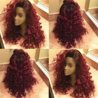 1bT99j Lace Front Wig Virgin Brazilian Ombre Human Hair Wig ...
