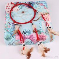 اليدوية ريشة حلم الماسك تصميم الأزياء خمر المعلقات الملونة سيارة المنزل الديكور السوبر رومانسية 4 2wt zz