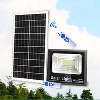 2018 New Outdoor Luzes de Segurança À Prova D 'Água IP68 Solar Power LED Luz de Inundação Solar Garden Lighting LED Lâmpada de Parede 20 W 40 W 60 W 120 W 200 W