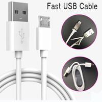 빠른 안드로이드 스마트 폰의 휴대 전화에 대한 데이터 동기화 케이블을 충전 고속 USB 케이블