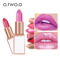O. TWO. O shimmer matte lipstick pencil waterproof long lastin...