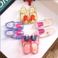 Summer Fashion Cute Kids Girls Boy Baby Ice Cream Sandals Bo...