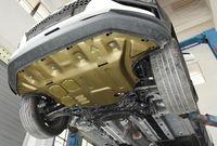 Placa de derrapagem de motor de carro de alta qualidade, placa de guarda, guardas de guerra, placa de proteção do motor para Hyundai Encino / Kona 1.6t