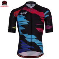 ZM Erkekler Bisiklet Jersey 2018 Pro Team MTB Yokuş Aşağı Jersey Nefes Yol Bisikleti Bisiklet Forması Tour De France Maillot Ciclismo
