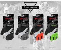 Boodun nuevo medio dedo bicicleta de montaña equipo antideslizante ciclismo guantes bicicleta hombres y mujeres modelos epacket envío gratis