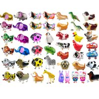 Walking Pet Animal Helium Aluminum Foil Balloon Automatic Se...