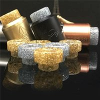 Epoxy Resin drip tip Gold Resin Wide Bore drip tips Mouthpie...