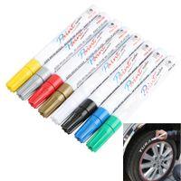 8 couleurs blanc caoutchouc imperméable permanent peinture marqueur marqueur voiture pneu bande de roulement peinture de pneu de l'environnement livraison gratuite