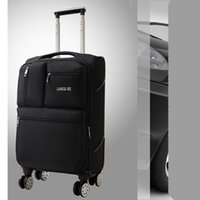 28 inch large capacity Rolling Luggage Spinner Men Oxford Tr...