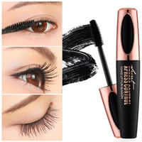 2018 New Long Curling Mascara Trucco Ciglia Nero Fibra Impermeabile Mascara Eye Lashes Trucco 4d Silk Fibra Lash Mascara