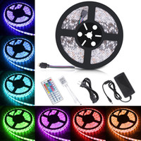 Waterproof Strips IP65 5M 300 Leds 5050 RGB Led Strips 60 le...