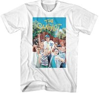 The Sandlot TV Movie Adult T Shirt DVD Movie Poster