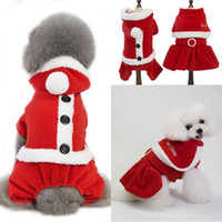 Pet Dog Clothing Autumn And Winter New Christmas Clothes Hol...