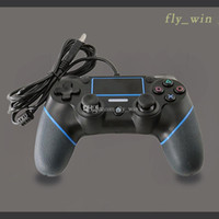 High Quality PS4 USB Wired Controllers Gamepads for PS4 Game...