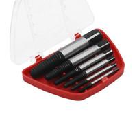 5 шт./компл. 3.5 мм-12 мм поврежден винт экстрактор Болт экстрактор набор инструментов Болт шпильки Remover с красной пластиковой коробке