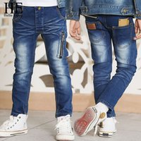 HE Hello Enjoy Kids Jeans For Boys Pants Zipper Skinny Jeans...