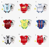 2018 Newborn Baby Boy Summer Clothes Short Sleeve Casual Foo...