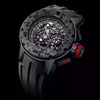 New 32 032 All Black PVD Black Skeleton Dial Big Date Automa...