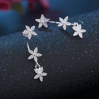 JEXXI Super Stars Suspension Stud Earrings Real 925 Sterling...