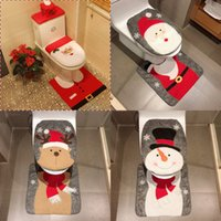 7 Styles Merry Christmas Decoration Santa Toilet Seat Cover ...