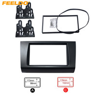 FEELDO Автомобильный DVD / CD Radio Stereo фасции Каркасные адаптер Fitting Kit для SUZUKI Swift # 4397