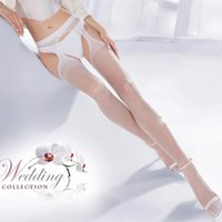 Sexy Tights Top Thigh- Highs Cut Out Sheer Nylon Stockings Wo...