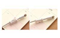 كارتون USB شاحن بيانات كابل الحبل حامي شحن خط التوقف للهاتف المحمول كابل حماية USB كابل اللفاف 1000pcs / lot