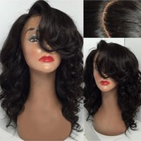 Cuticle Aligned full lace human hair wigs 150% Density natur...