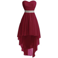 Real Images Sweetheart Chiffon Bridesmaid Dresses Perfect Hi...