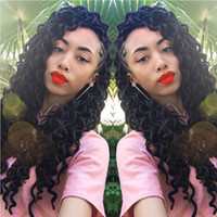 18inch 24Roots pack Curly Faux Locs Soft Hair Deep Faux Locs...