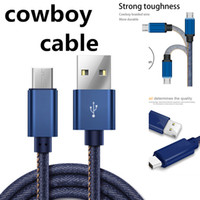 Cowboy Braided Micro USB Charger Cable 1M Data Sync Fast Cha...