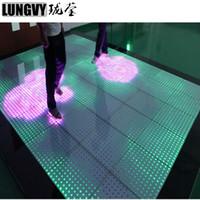20 teile / los 12X12 Pixel RGB 144 stücke 5050 SMD Digital Interaktive LED Video Tanzfläche für Hochzeit Bühne