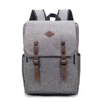2018 retro männer frauen leinwand rucksäcke schultaschen für jugendliche jungen mädchen laptop rucksack freizeit reise rucksack