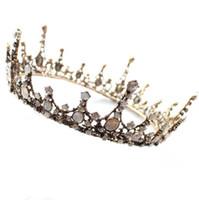 Coiffure de mariée, baroque, beau cercle, couronne couronne couronne robe de mariée accessoires