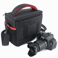 مقاوم للماء DSLR حقيبة كاميرا ظهره حالة القضية لكاميرا كانون كاميرا نيكون سوني ألفا حقيبة باناسونيك فوجيفيلم أوليمبوس SLR حقيبة كتف