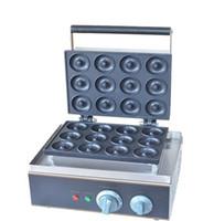 Gratis verzending 2 uints / partij Elektrische 12 stuks Zoete Donuts Machine Cookie Cake Maker