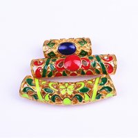 ZhiFan dreadlock bead cuff clip hollow out braids beads hair...