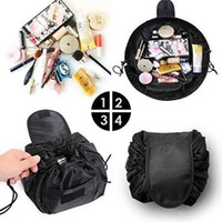 Vely Vely Cosmetic Bag Drawstring Large Capacity Portable Ma...