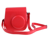 Leather Camera Strap Bag Case Cover Pouch Protector For Pola...
