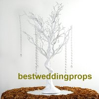 Manzanita Yapay Ağaç Beyaz Centerpiece Parti Yol Kurşun Masa Üstü Düğün Dekorasyon best0221